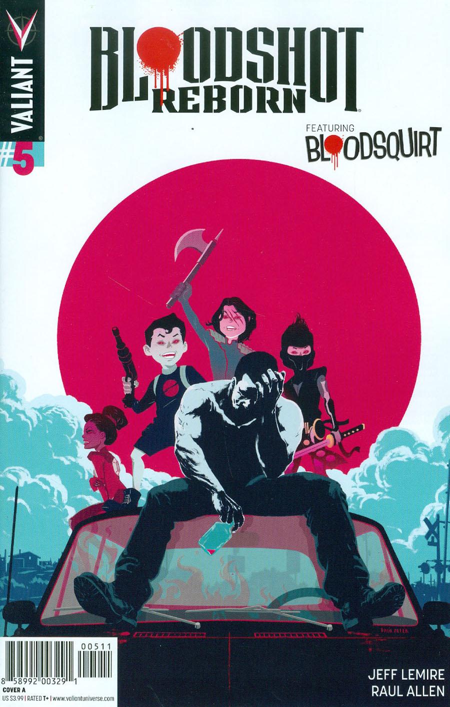 Bloodshot Reborn #5 Cover A 1st Ptg Regular Raul Allen Cover