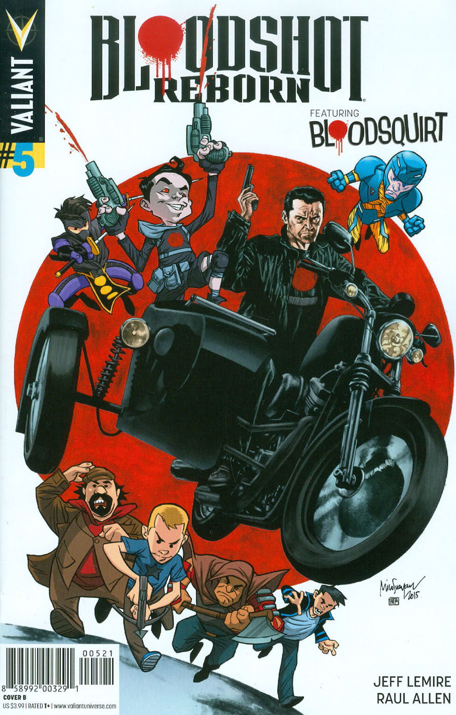 Bloodshot Reborn #5 Cover B Variant Mico Suayan Cover