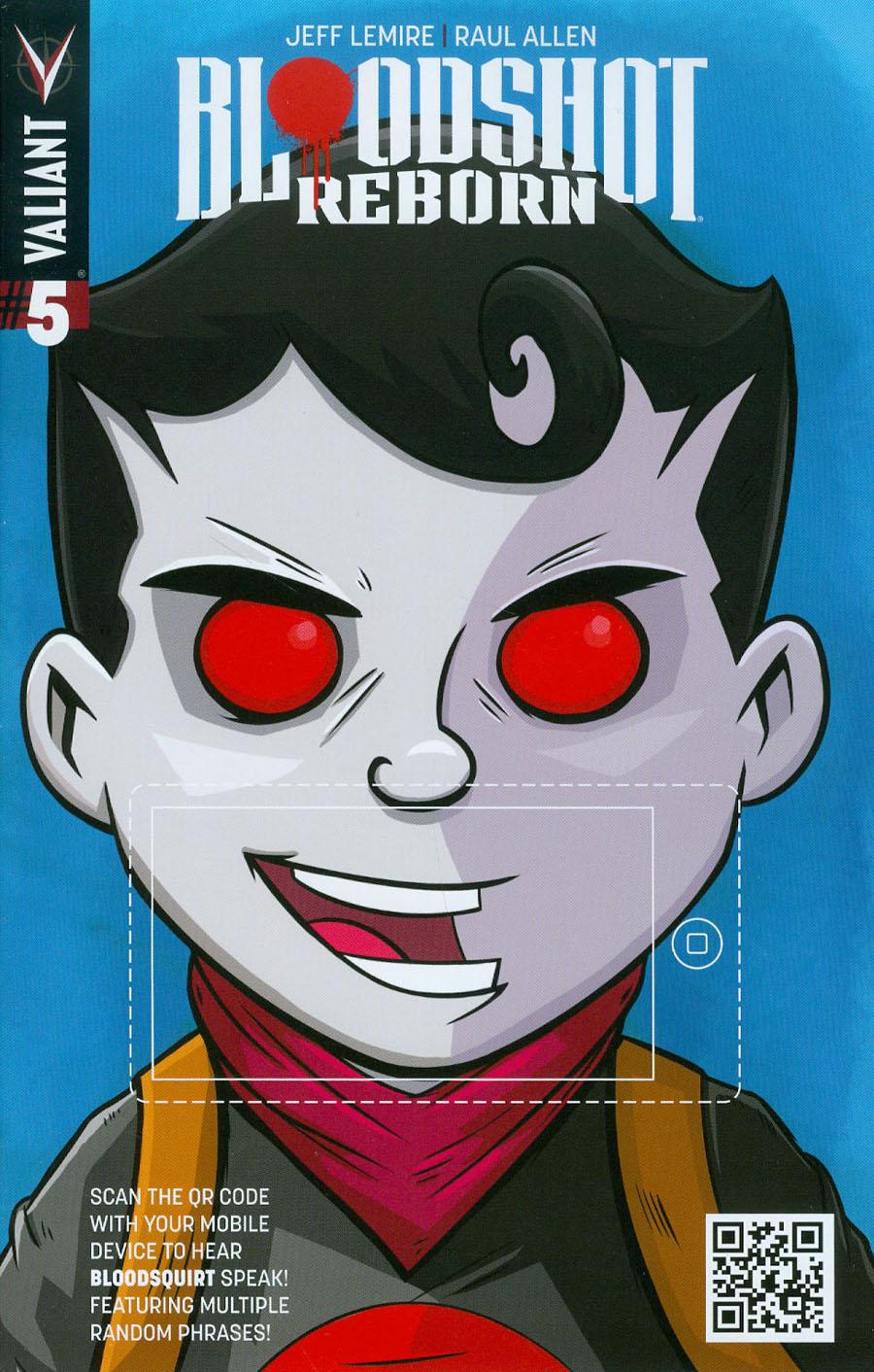 Bloodshot Reborn #5 Cover C Variant Jay Fabares QR Voice Cover
