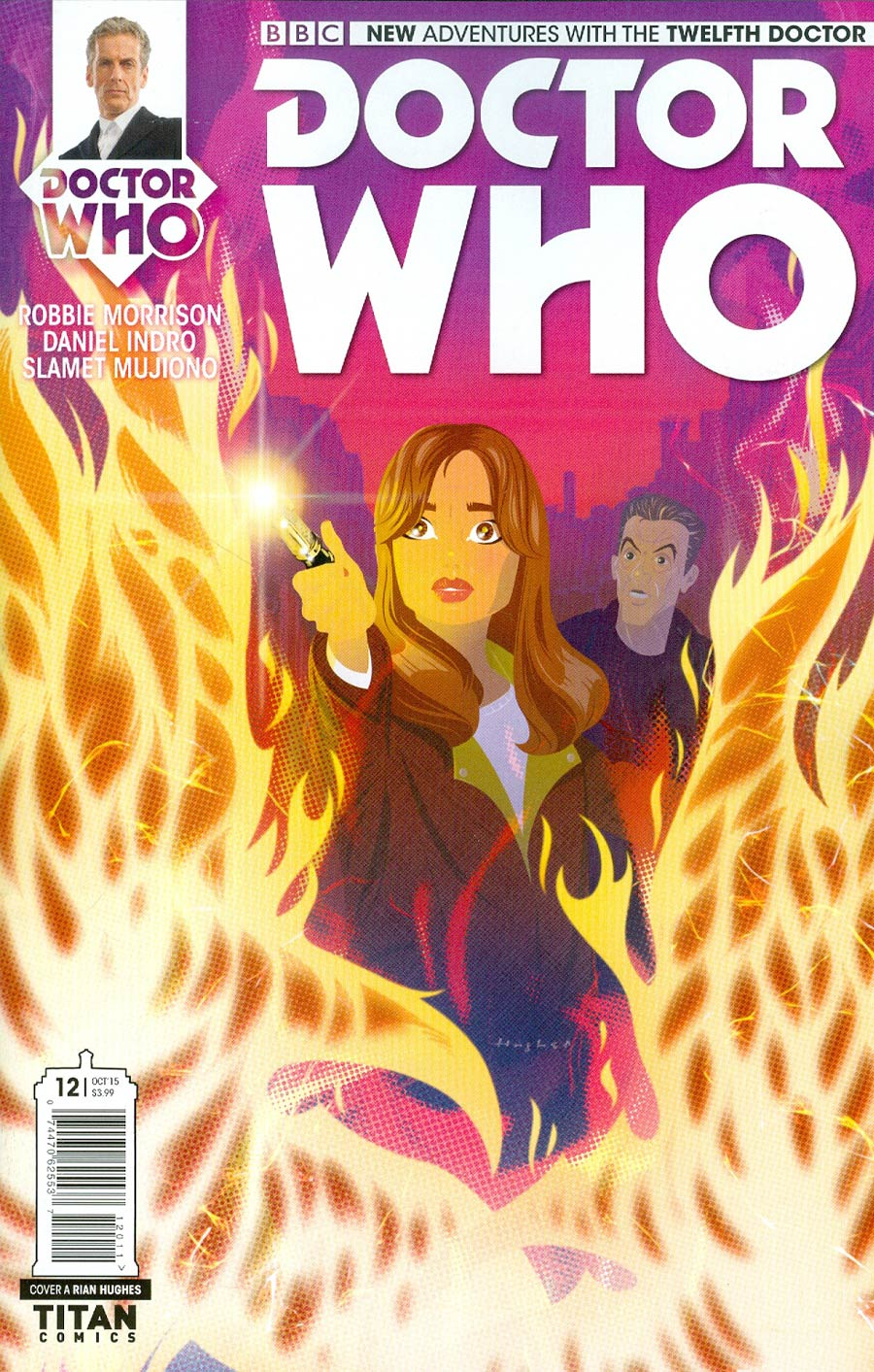 Doctor Who 12th Doctor #12 Cover A Regular Rian Hughes Cover