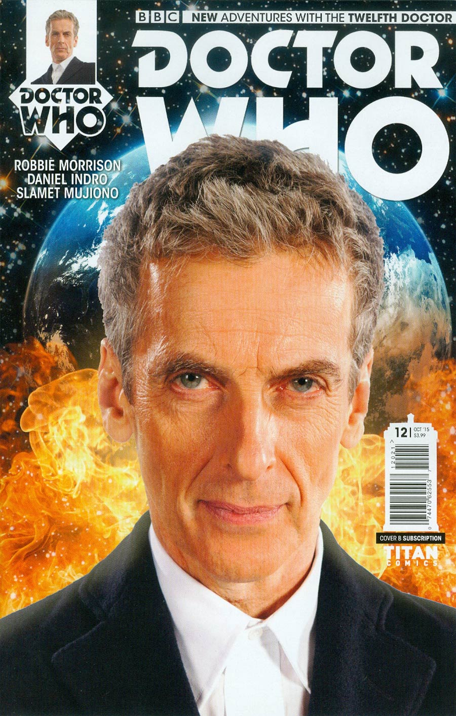 Doctor Who 12th Doctor #12 Cover B Variant Photo Subscription Cover