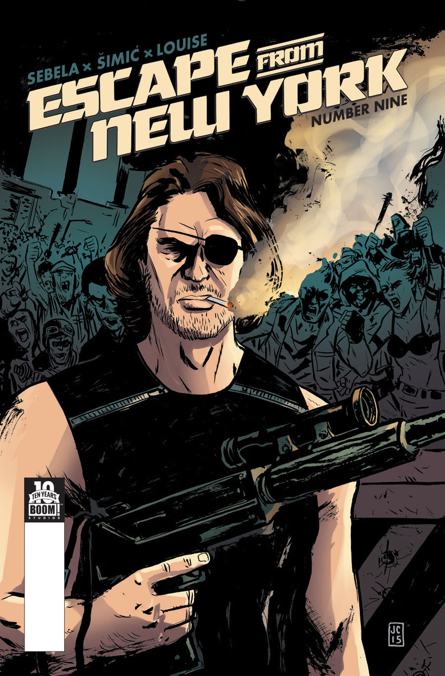 Escape From New York #9 Cover A Regular Jason Copland Cover