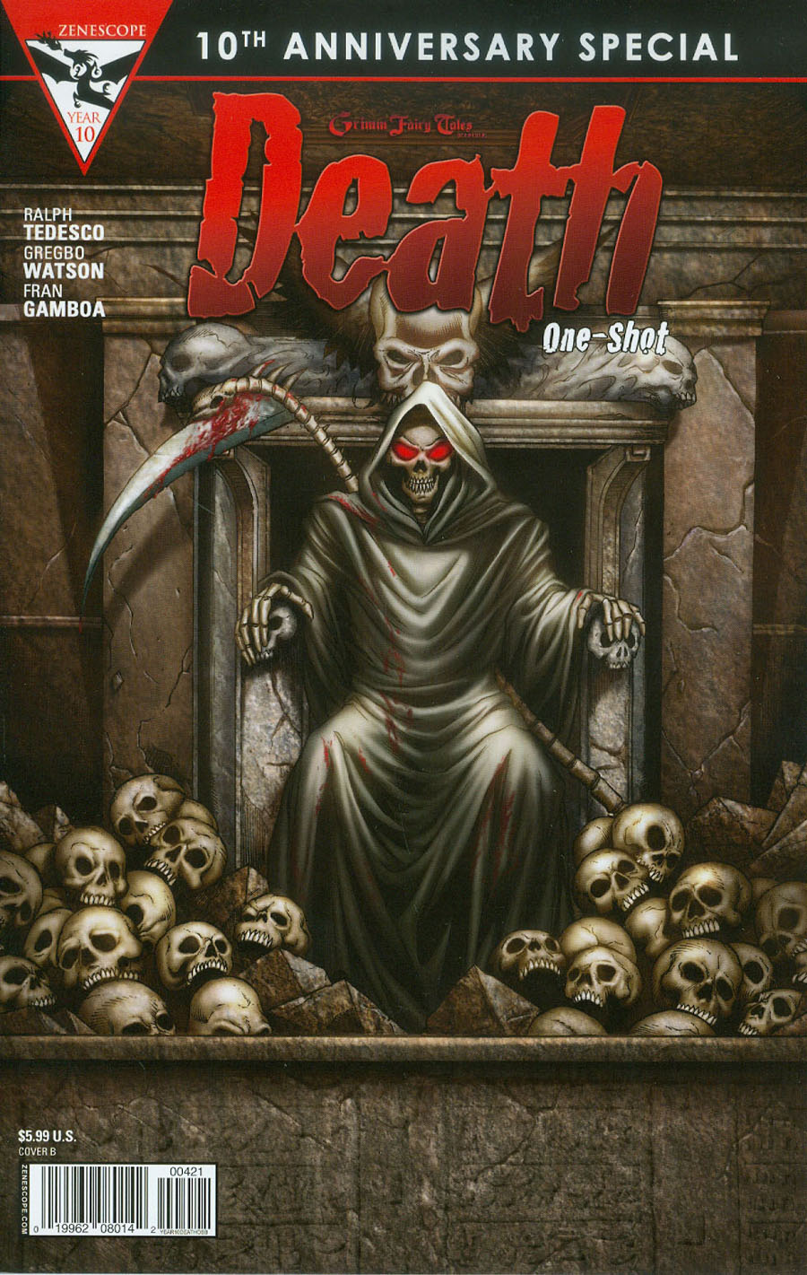 Grimm Fairy Tales Presents 10th Anniversary Special #4 Death Cover B Marat Mychaels