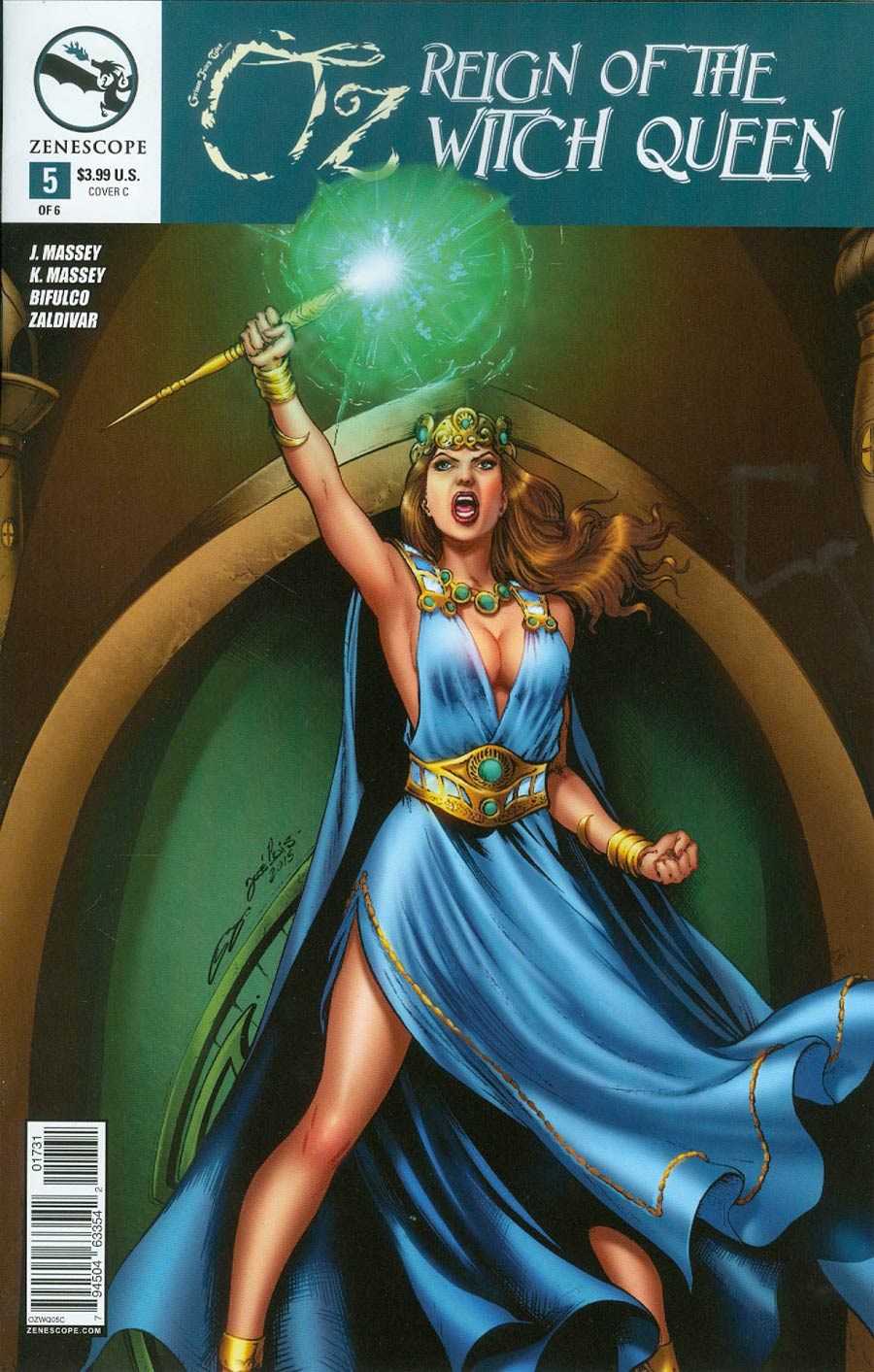 Grimm Fairy Tales Presents Oz Reign Of The Witch Queen #5 Cover C Jose Luis