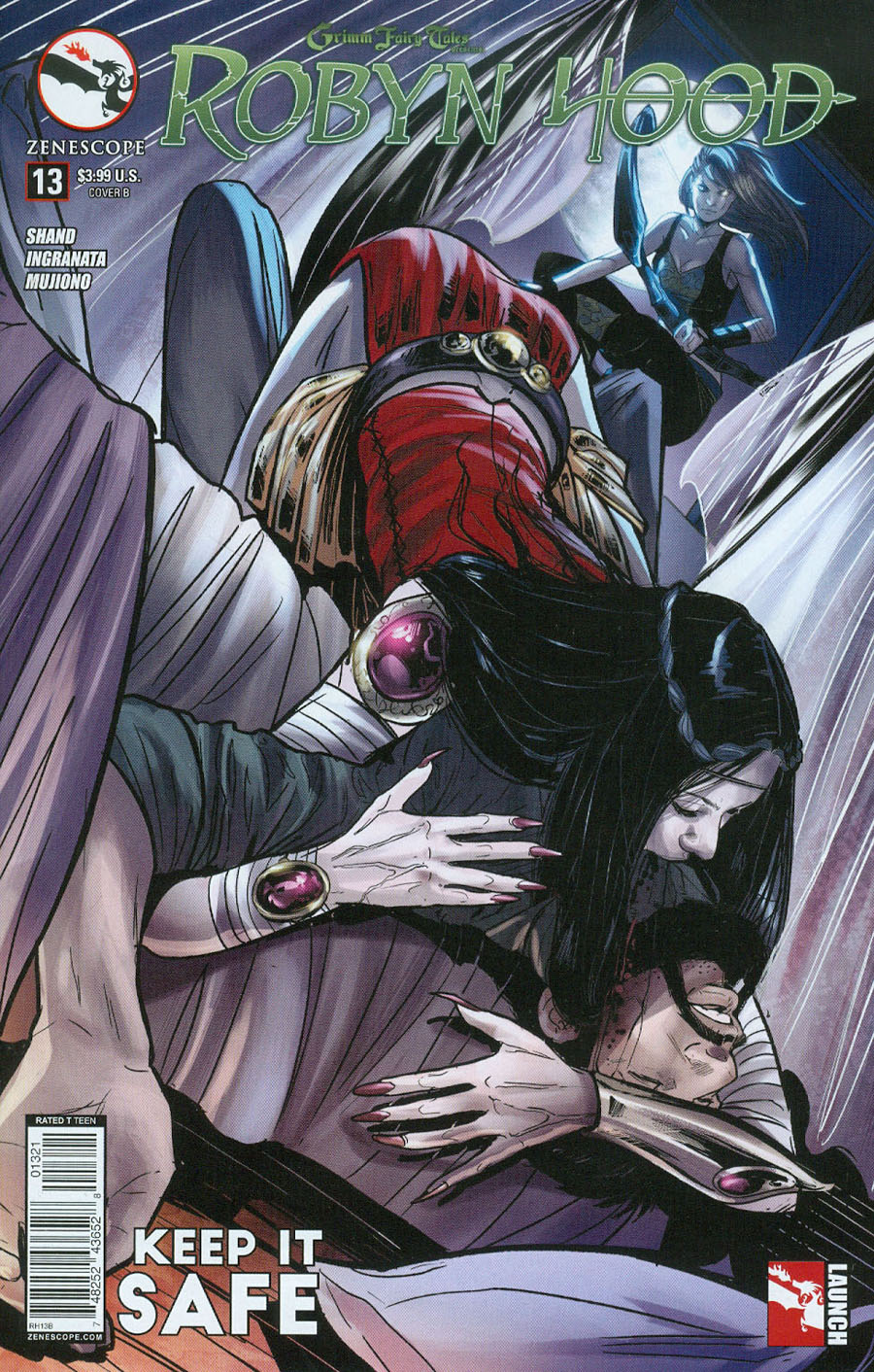 Grimm Fairy Tales Presents Robyn Hood Vol 2 #13 Cover B Roberta Ingranata