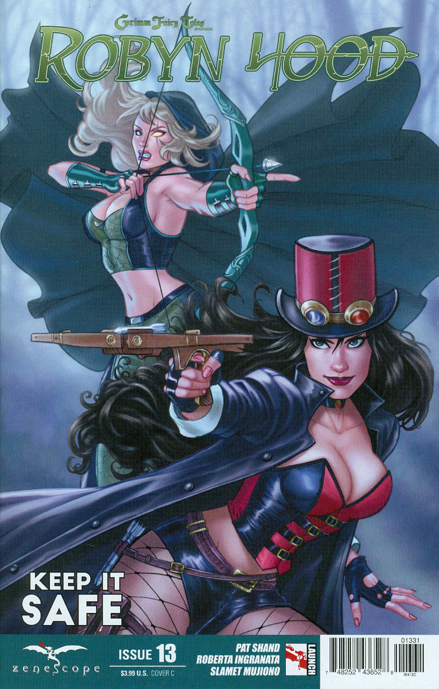Grimm Fairy Tales Presents Robyn Hood Vol 2 #13 Cover C Maria Sanapo