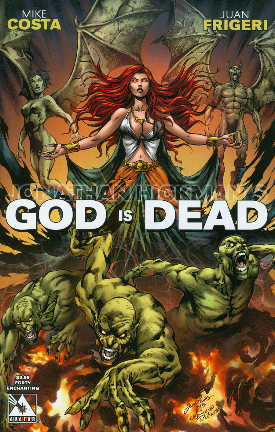 God Is Dead #40 Cover E Encahnting Cover