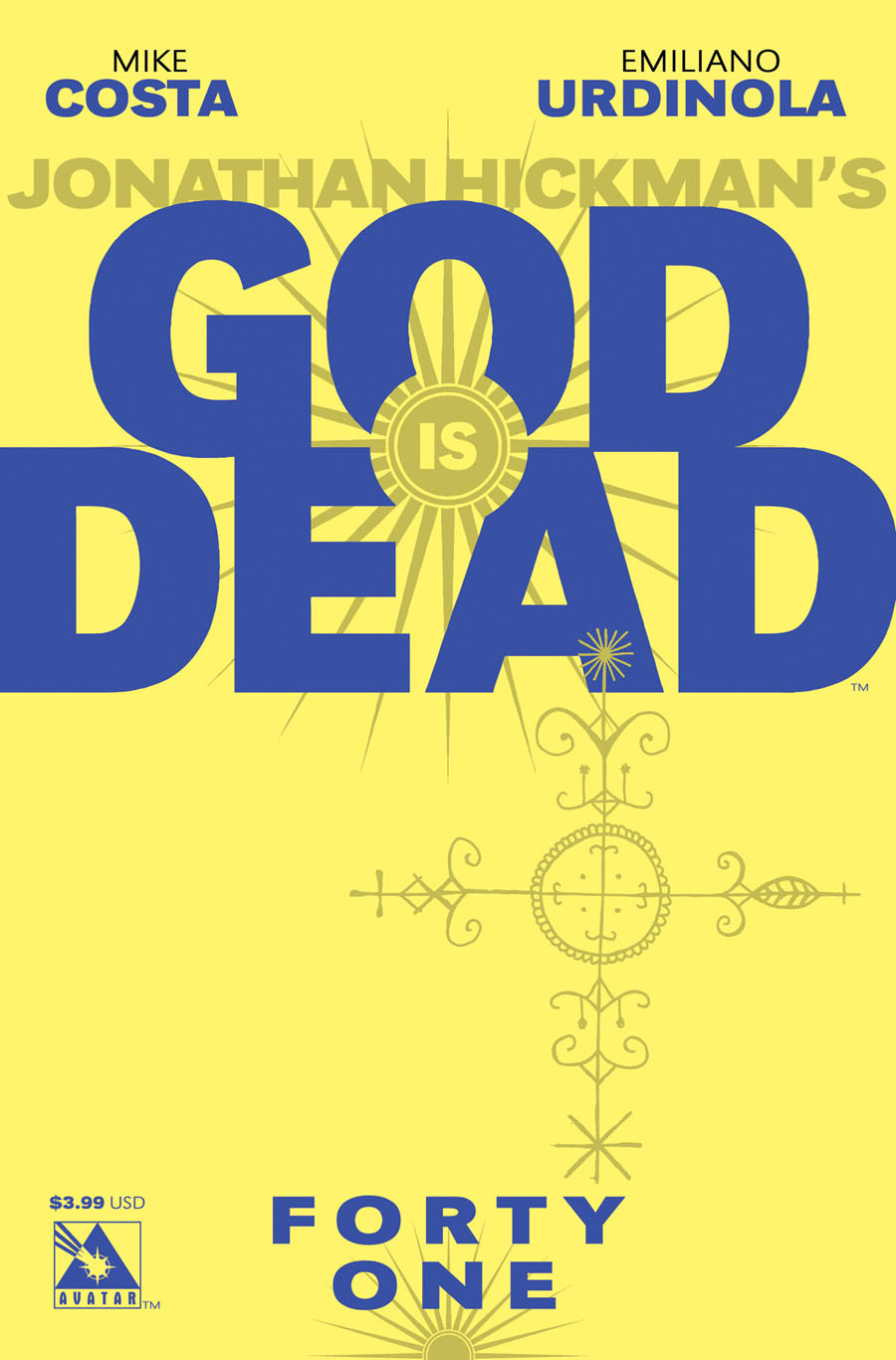 God Is Dead #41 Cover A Regular Cover