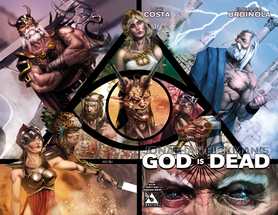 God Is Dead #41 Cover C Carnage Wraparound Cover