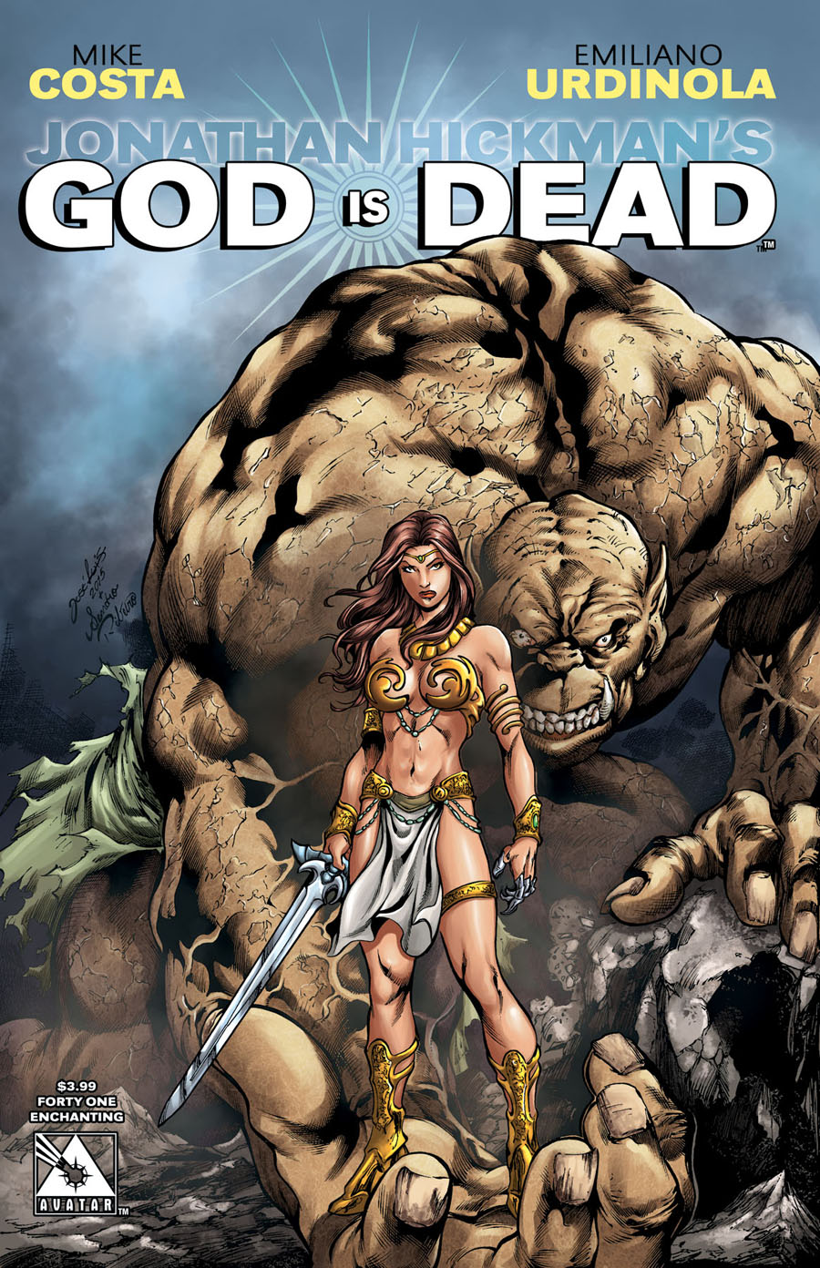 God Is Dead #41 Cover E Enchanting Cover