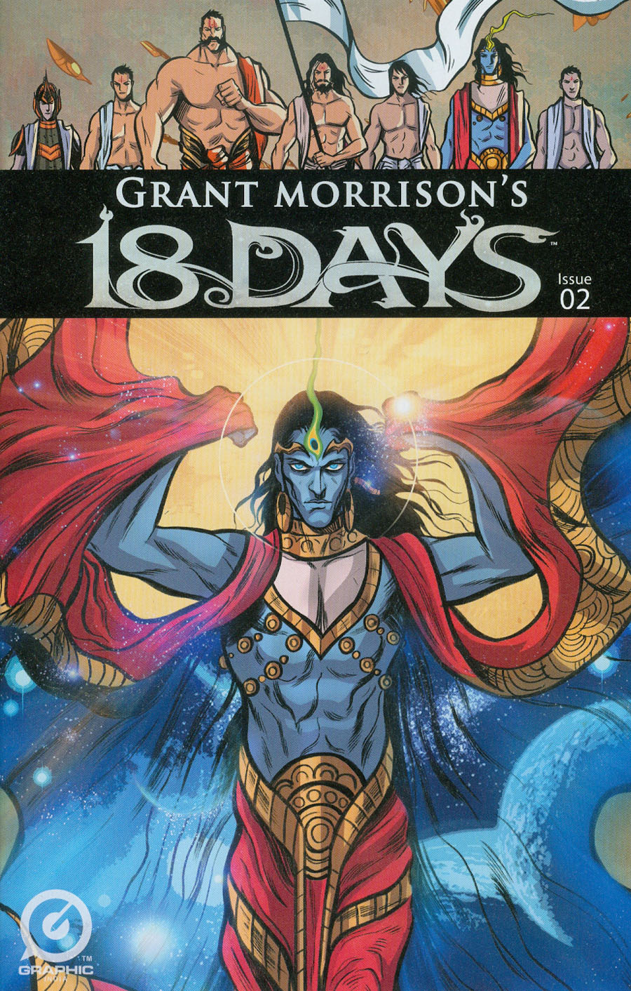Grant Morrisons 18 Days #2 Cover A Regular Jeevan Kang Cover