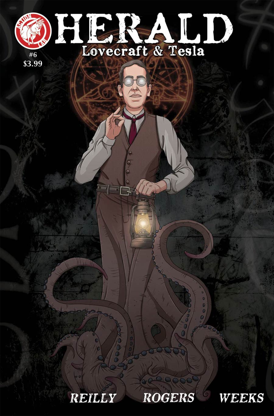 Herald Lovecraft & Tesla #6