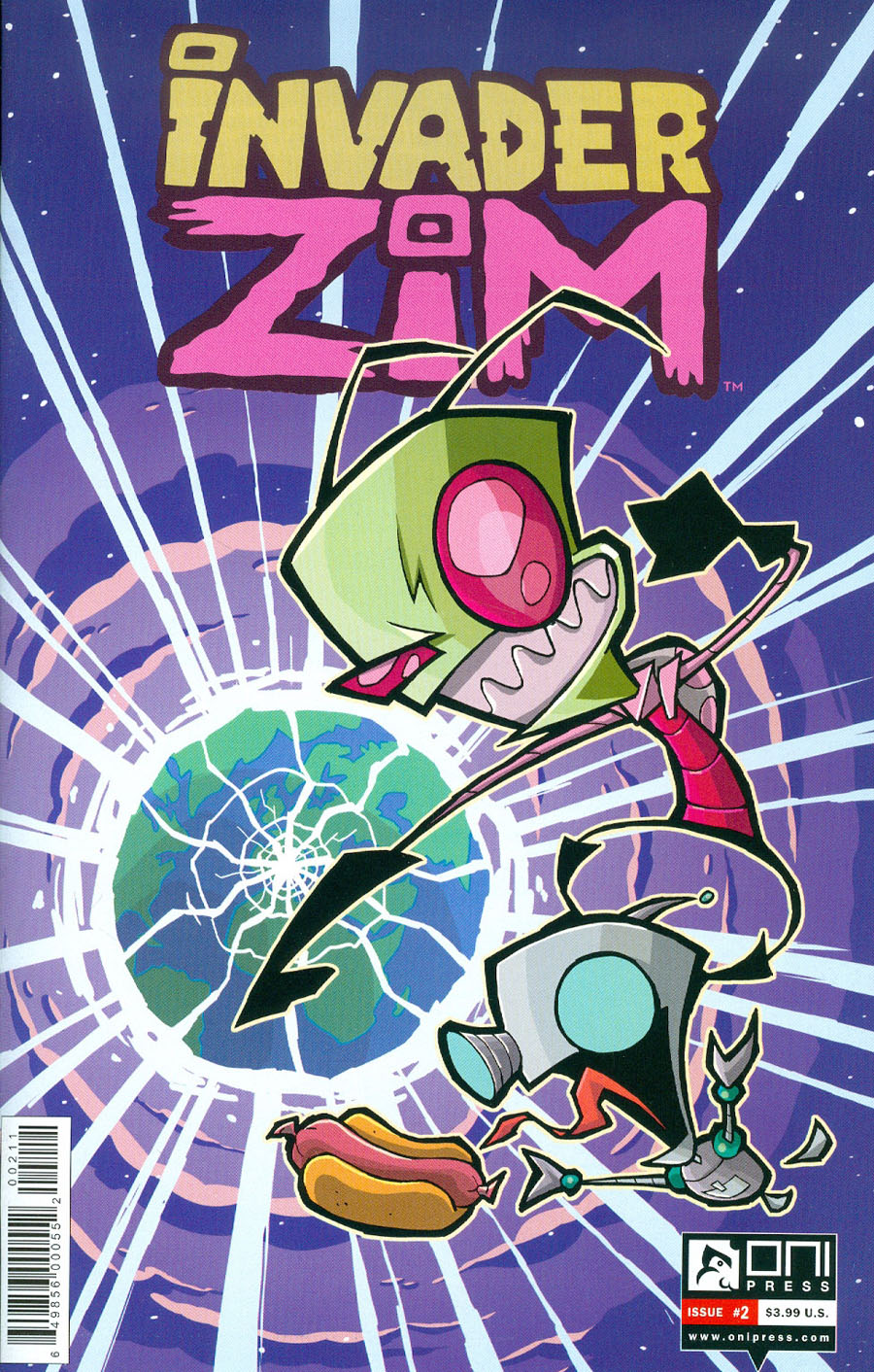 Invader Zim #2 Cover A Regular Aaron Alexovich Cover