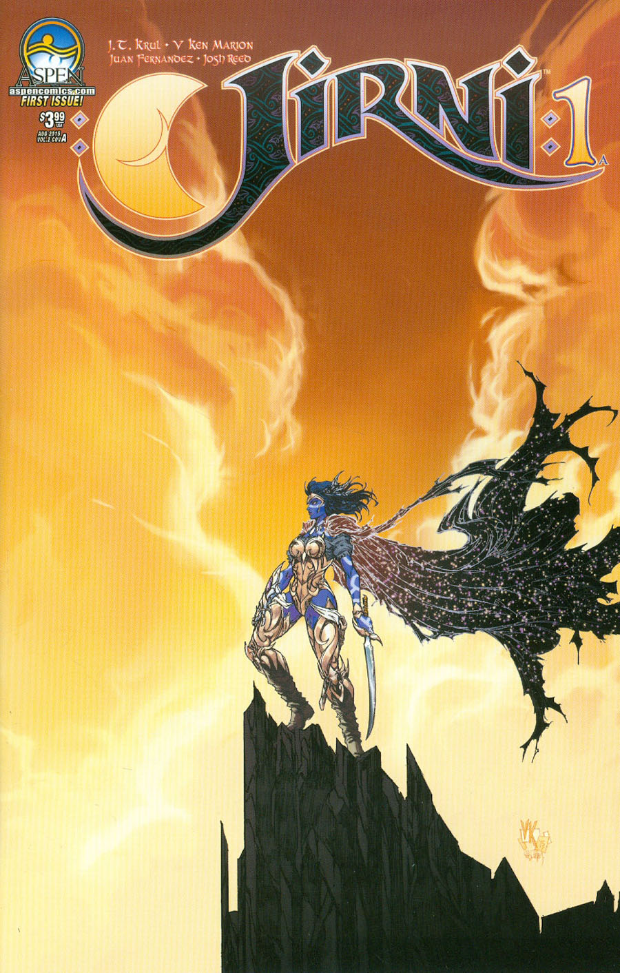 Jirni Vol 2 #1 Cover A Regular Ken Marion Cover
