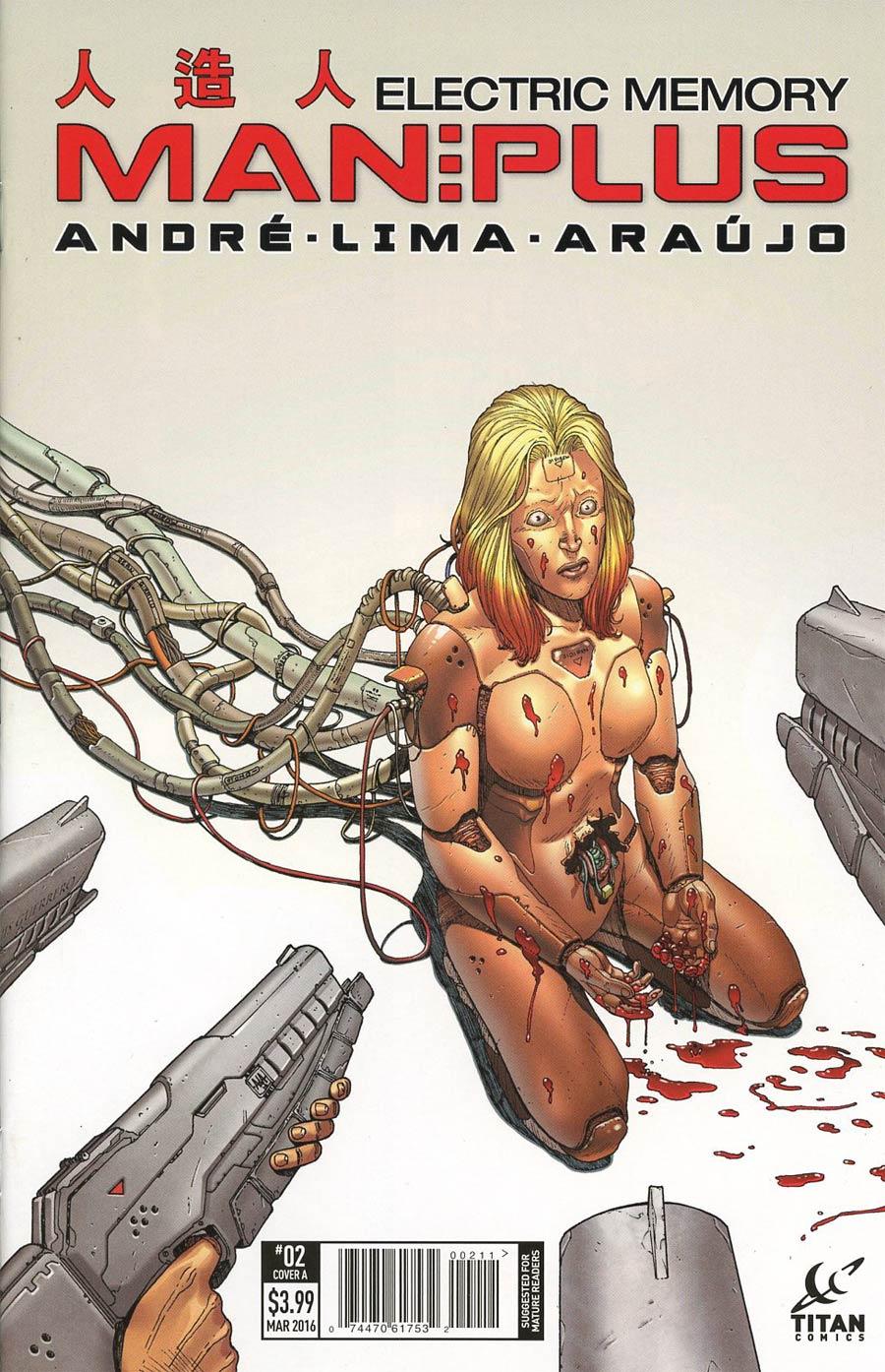 Man Plus #2 Cover A Regular Andre Araujo Cover