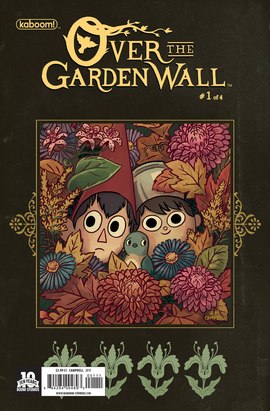 Over The Garden Wall #1 Cover A Regular Jim Campbell Cover