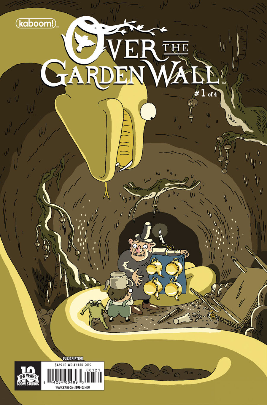 Over The Garden Wall #1 Cover C Variant Steve Wolfhard Subscription Cover