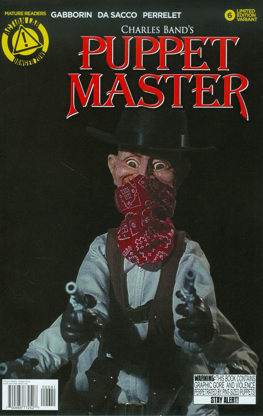 Puppet Master #6 Cover D Variant Six Shooter Photo Cover