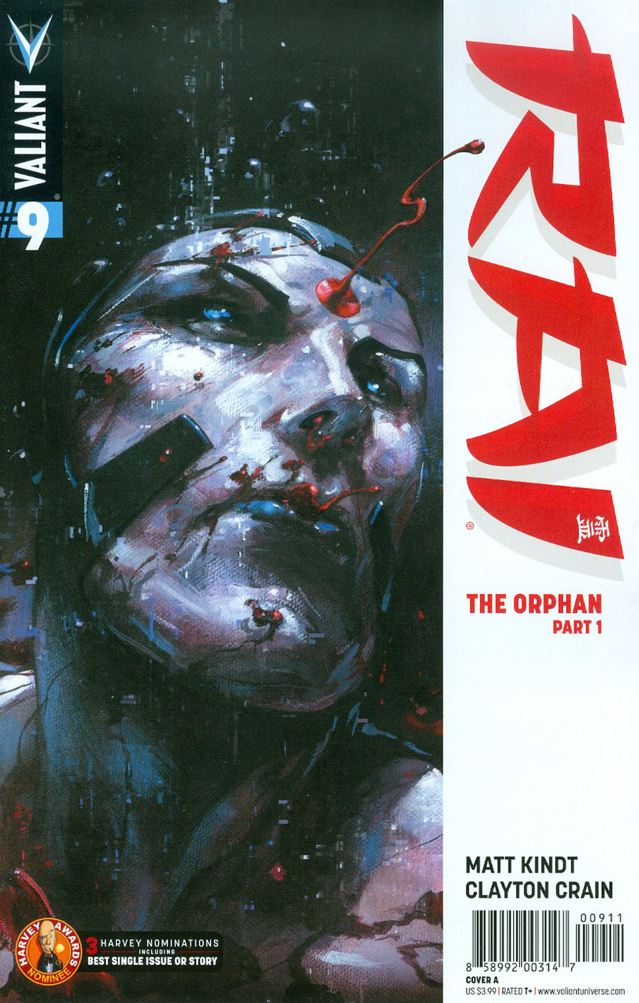 Rai Vol 2 #9 Cover A Regular Clayton Crain Cover