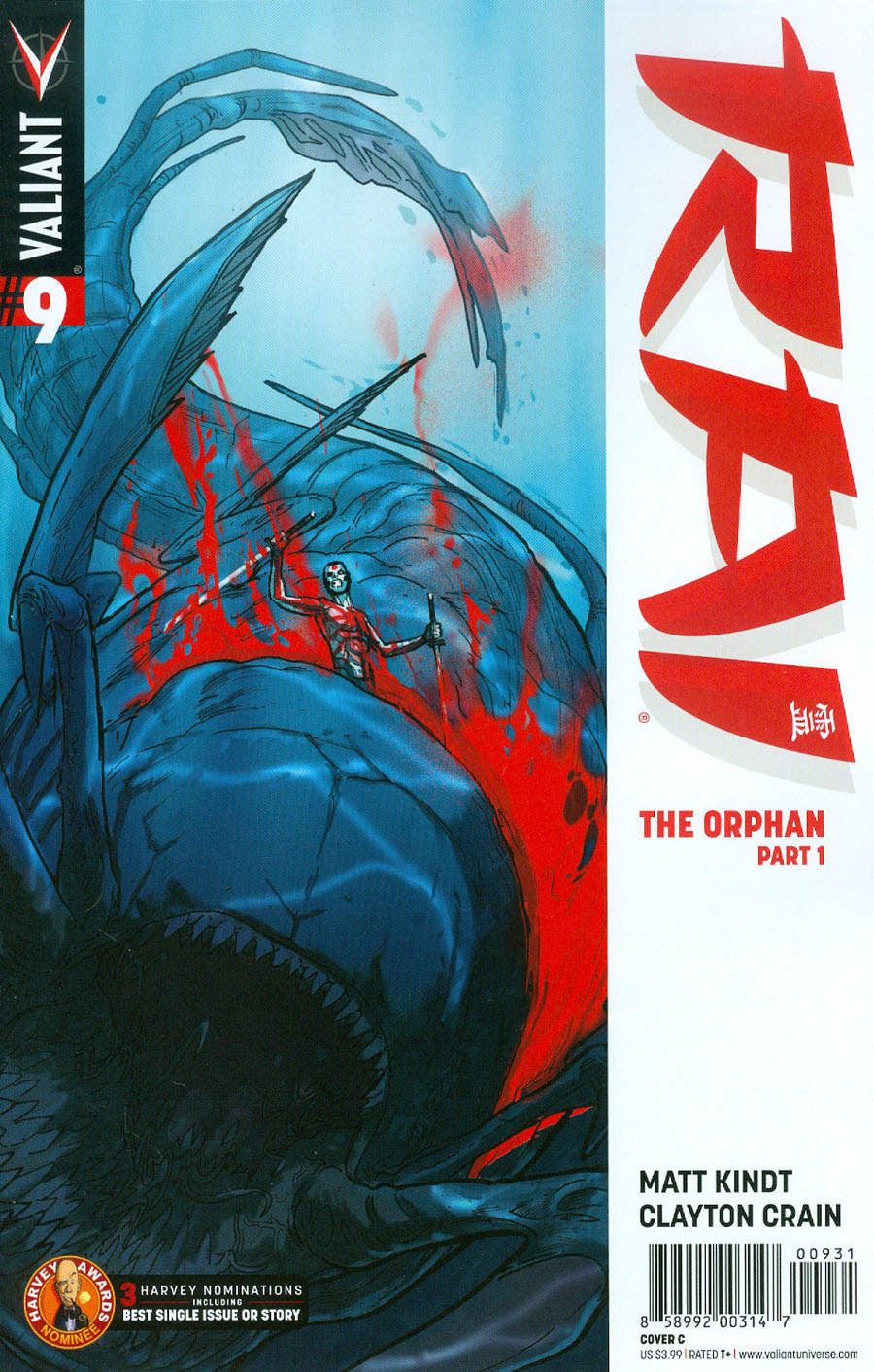 Rai Vol 2 #9 Cover C Variant Riley Rossmo Cover