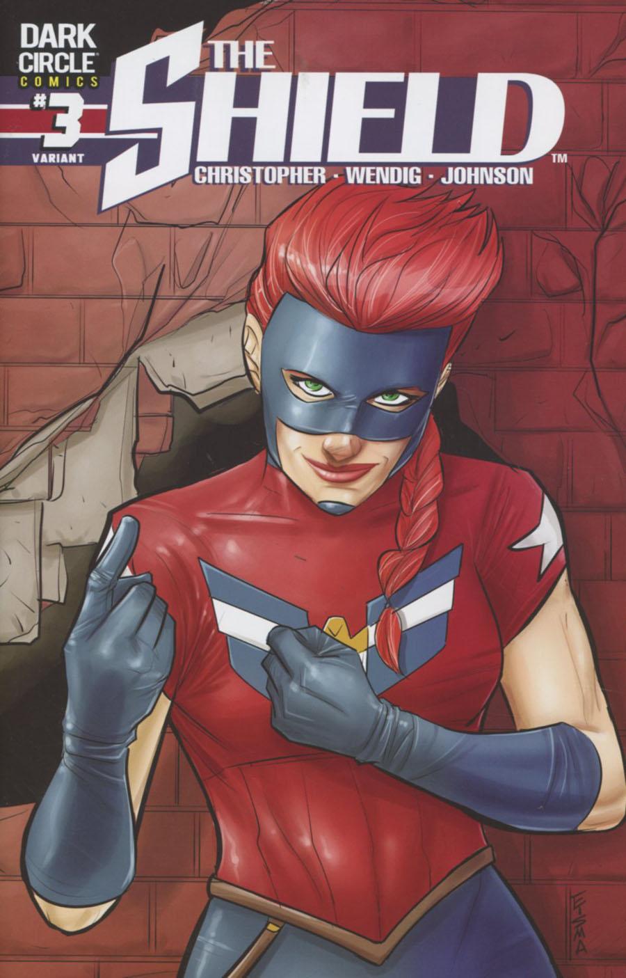 Shield Vol 3 #3 Cover B Variant Joe Eisma Cover