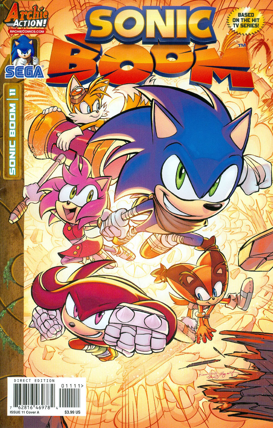 Sonic Boom #11 Cover A Regular Diana Skelly Cover