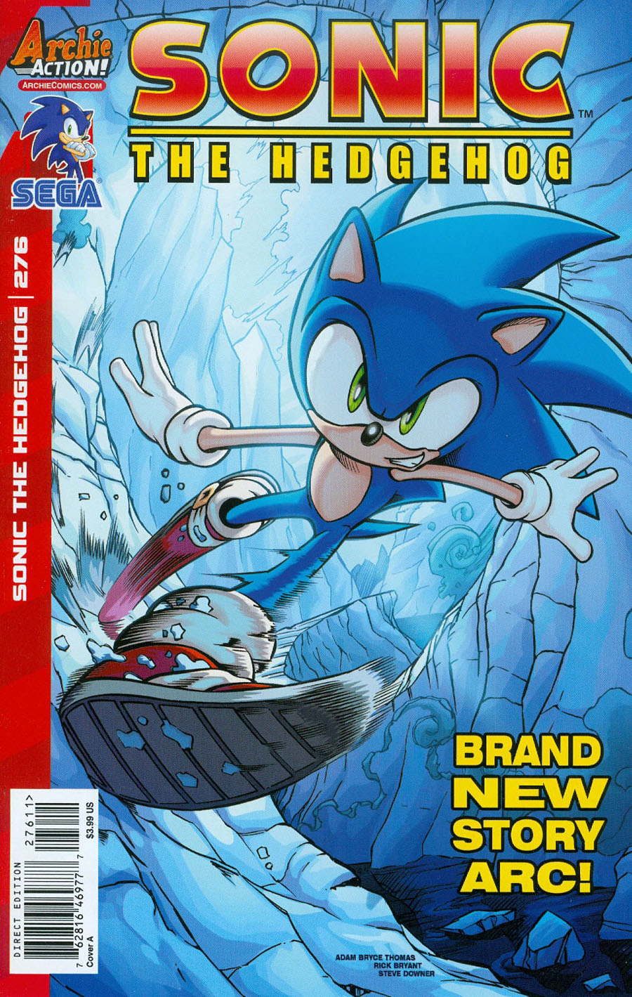 Sonic The Hedgehog Vol 2 #276 Cover A Regular Adam Bryce Thomas Cover