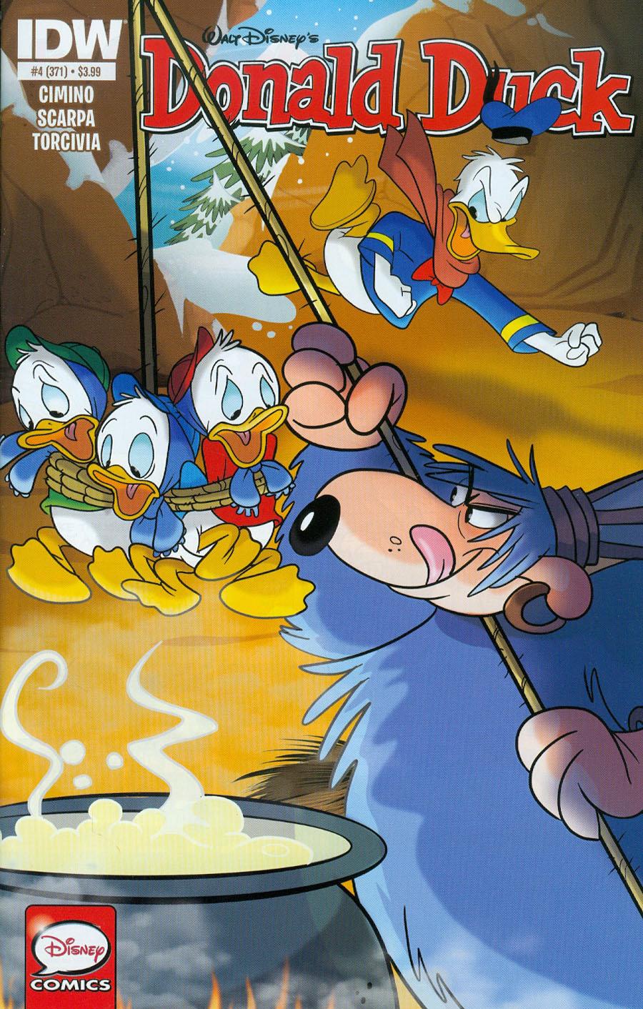 Donald Duck Vol 2 #4 Cover A Regular Dave Alvarez Cover