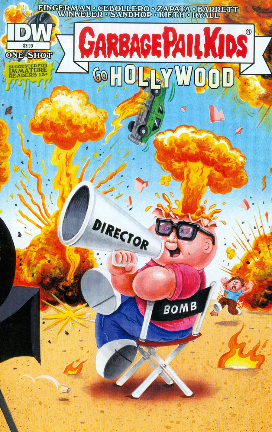 Garbage Pail Kids Go Hollywood One Shot Cover A Regular Mark Pingitore Cover