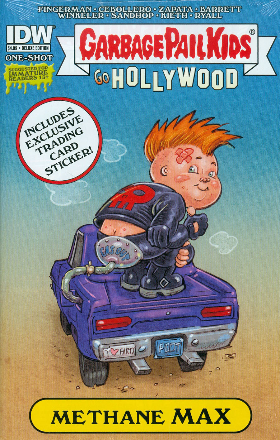 Garbage Pail Kids Go Hollywood One Shot Cover C Deluxe Edition