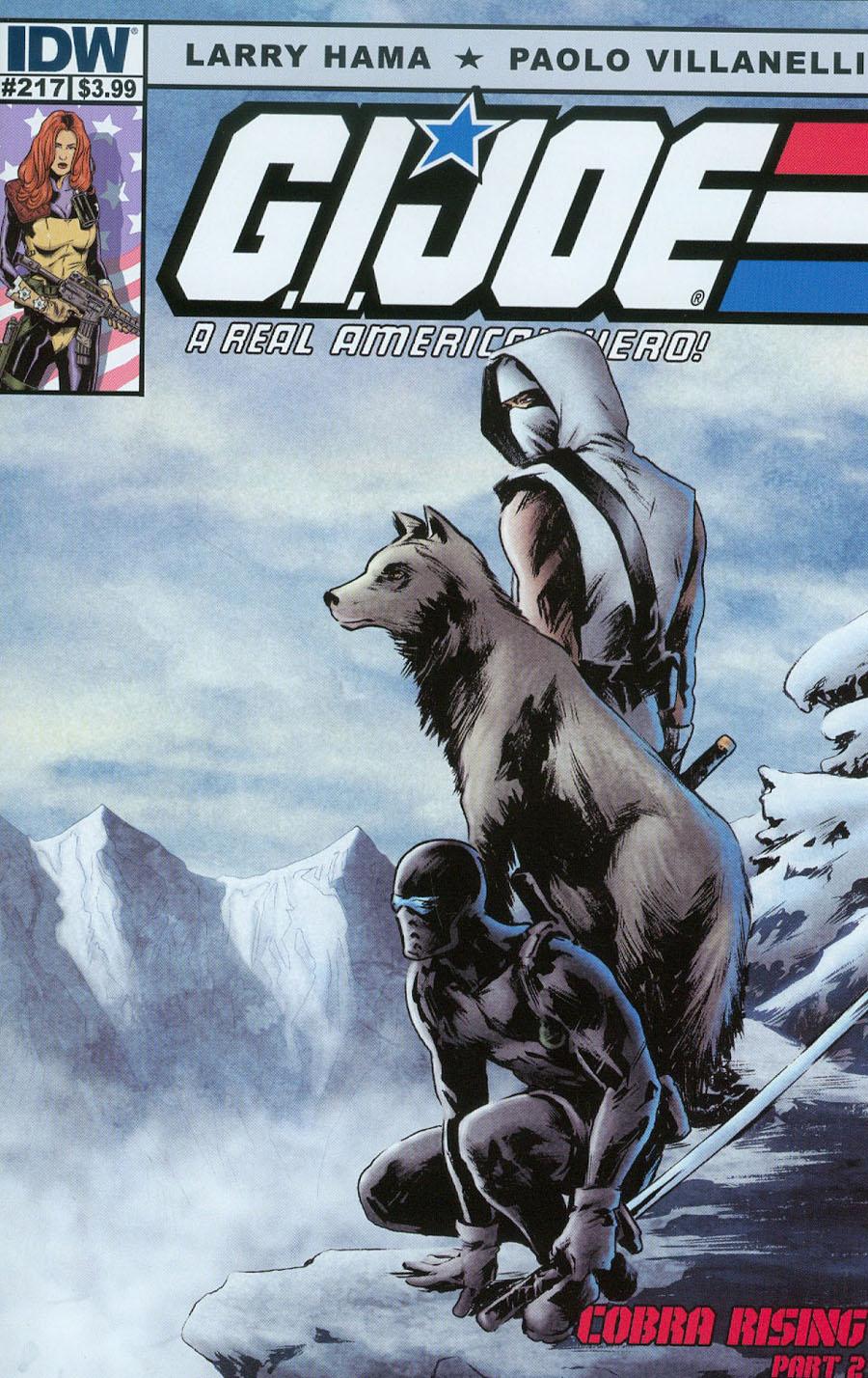 GI Joe A Real American Hero #217 Cover A Regular Paolo Villanelli Cover