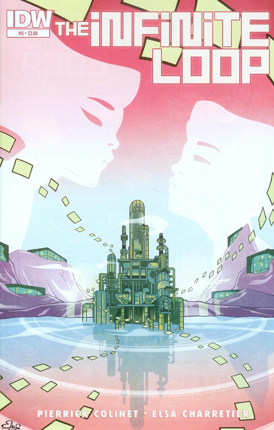 Infinite Loop #5 Cover A Regular Elsa Charretier Cover