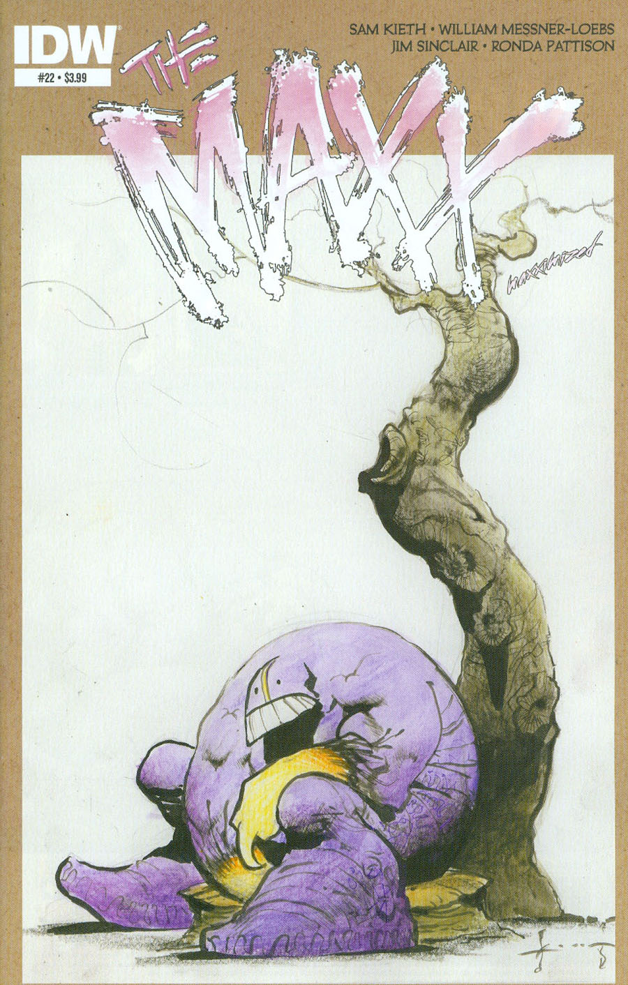 Maxx Maxximized #22 Cover A Regular Sam Kieth Cover