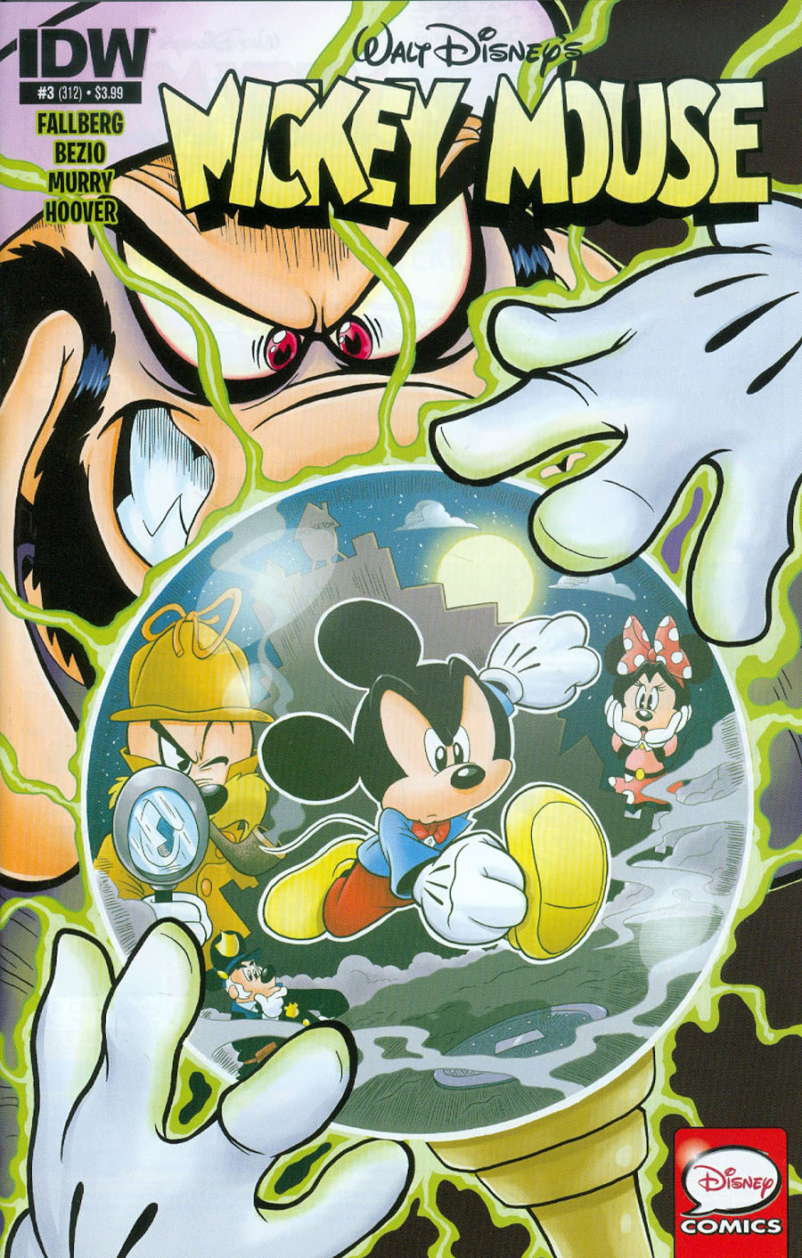 Mickey Mouse Vol 2 #3 Cover A Regular Jonathan Gray Cover