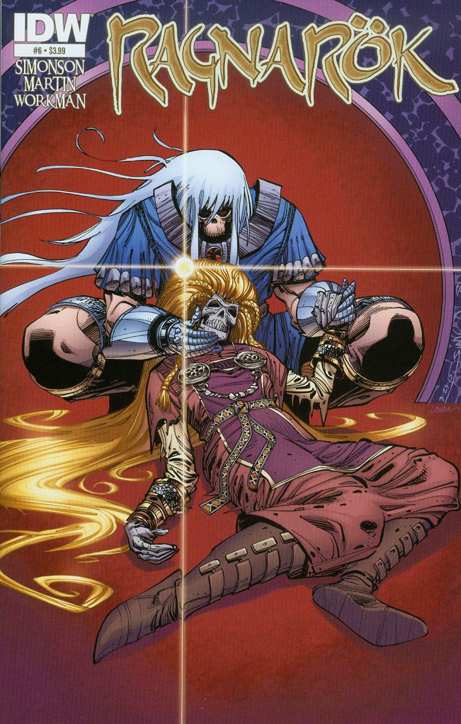 Ragnarok #6 Cover A Regular Walter Simonson Cover
