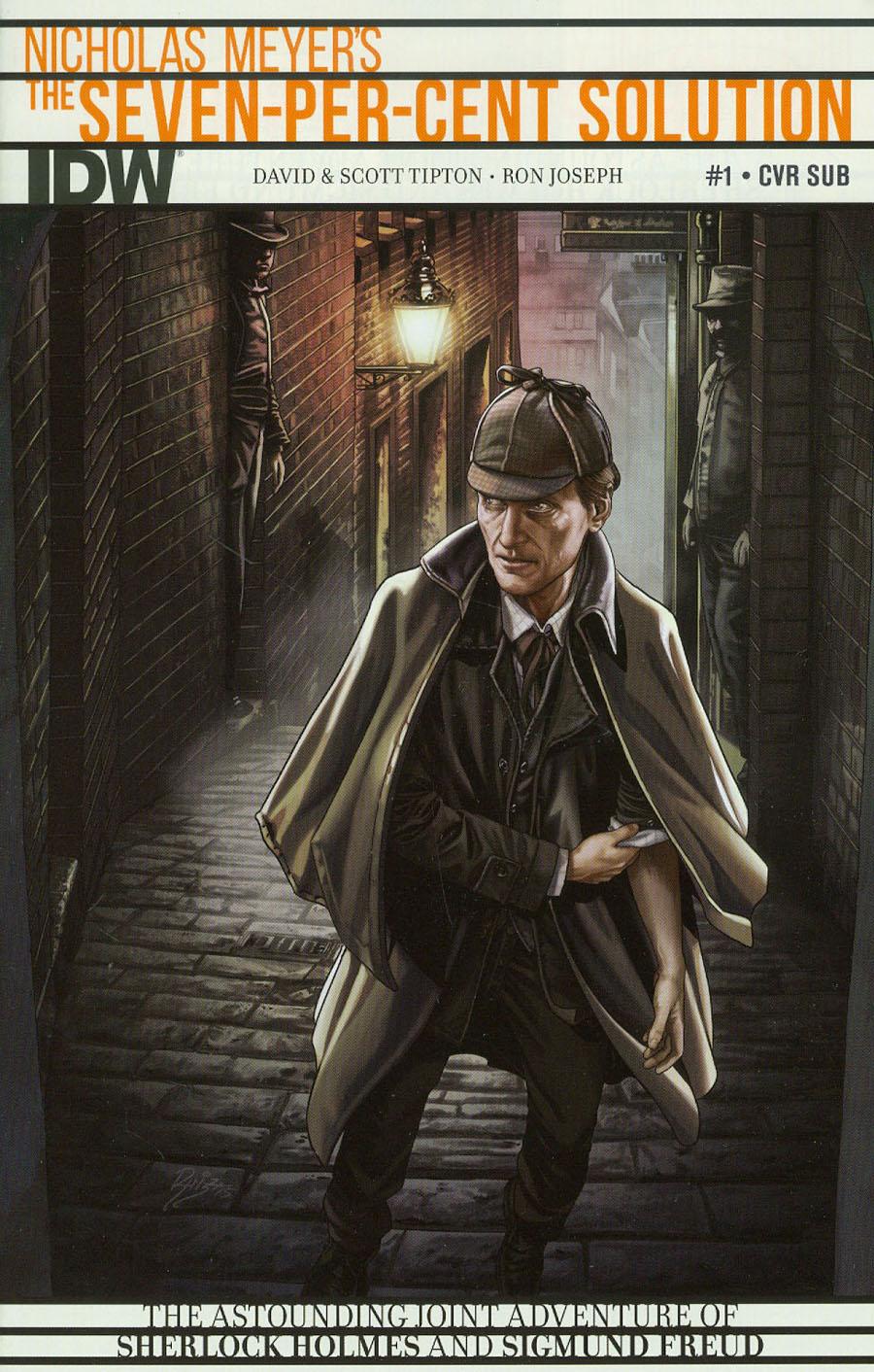 Sherlock Holmes Seven-Per-Cent Solution #1 Cover B Variant Juan Carlos Ruiz Subscription Cover