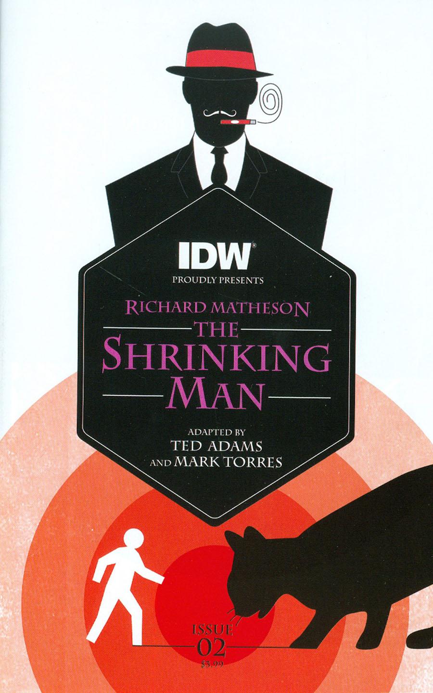 Shrinking Man #2 Cover A Regular Mark Torres Cover