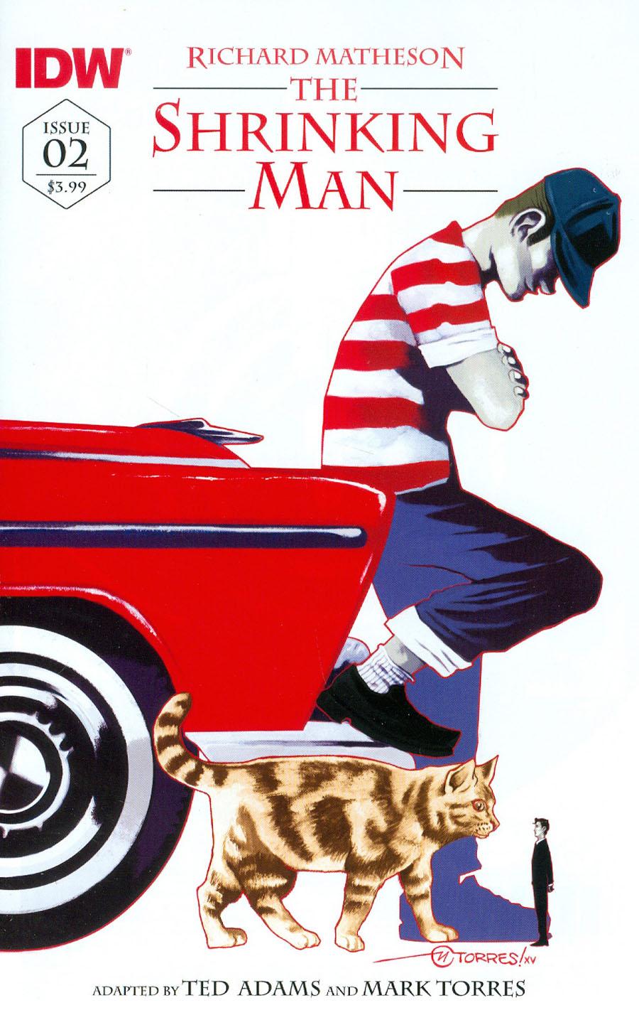 Shrinking Man #2 Cover B Variant Mark Torres Subscription Cover