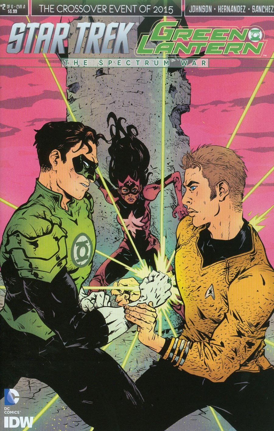 Star Trek Green Lantern #2 Cover A Regular Paul Pope Cover