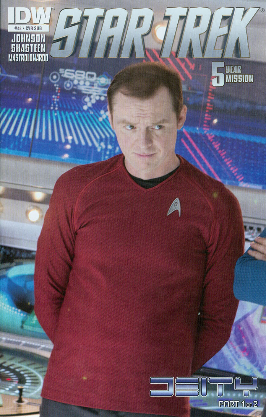 Star Trek (IDW) #48 Cover B Variant Photo Subscription Cover