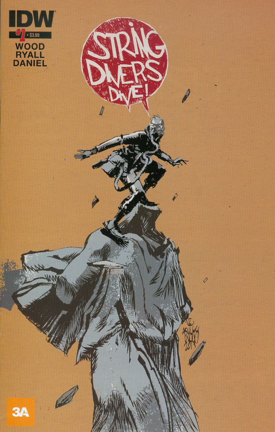 String Divers #1 Cover A Regular Ashley Wood Cover