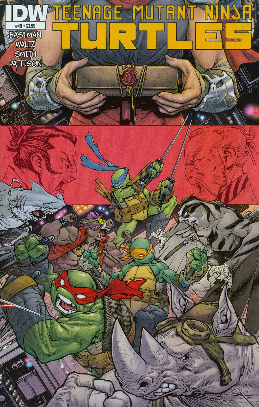 Teenage Mutant Ninja Turtles Vol 5 #49 Cover A Regular Mateus Santolouco Cover