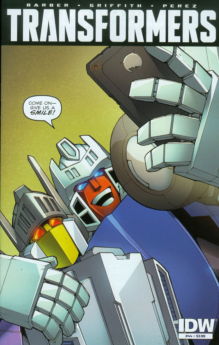 Transformers Vol 3 #44 Cover A Regular Andrew Griffith Cover