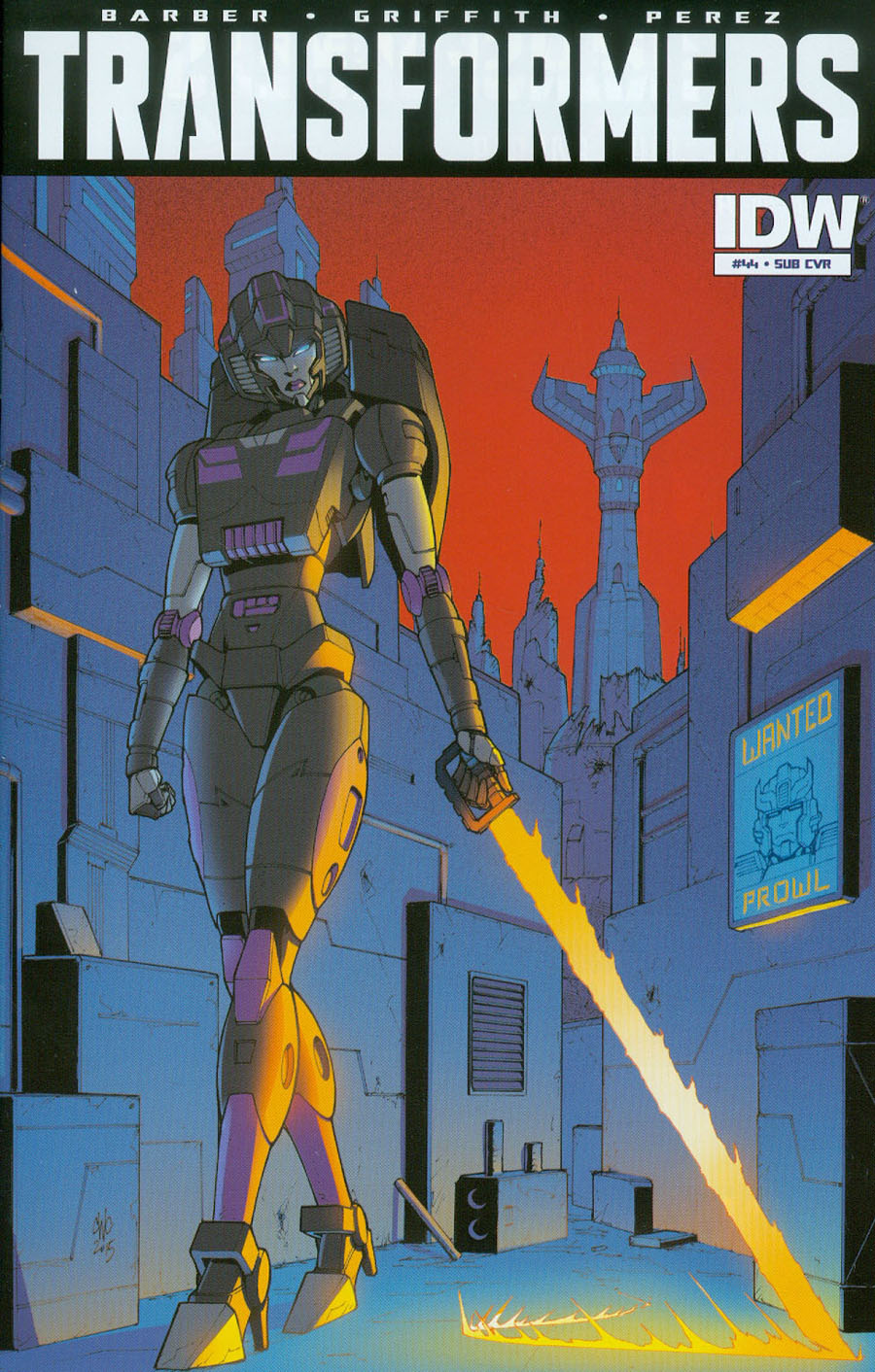 Transformers Vol 3 #44 Cover B Variant Casey W Coller Subscription Cover