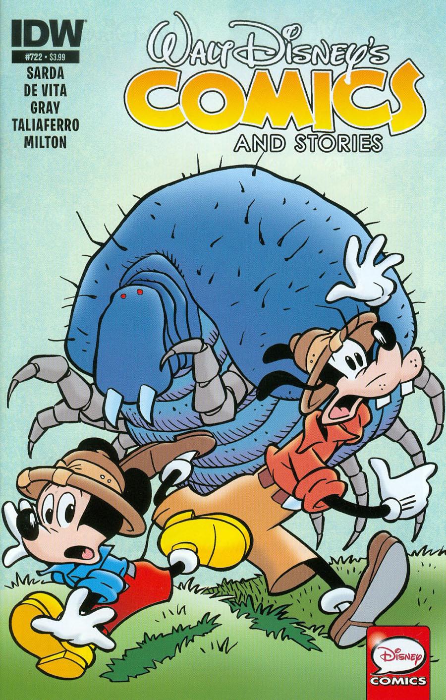 Walt Disneys Comics & Stories #722 Cover A Regular Giorgio Cavazzano Cover
