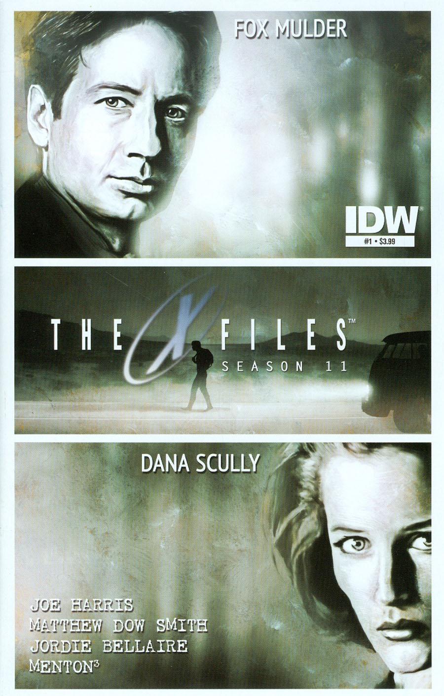 X-Files Season 11 #1 Cover A Regular Menton3 Cover