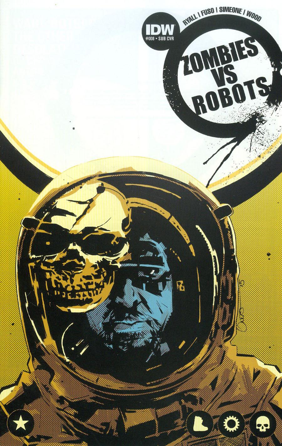 Zombies vs Robots Vol 2 #8 Cover B Variant Antonio Fuso Subscription Cover