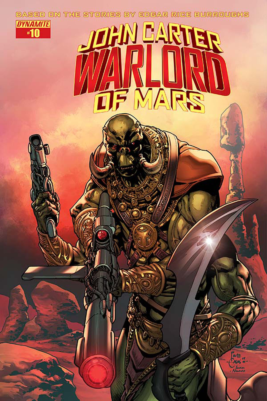John Carter Warlord Of Mars Vol 2 #10 Cover A Regular Bart Sears Cover