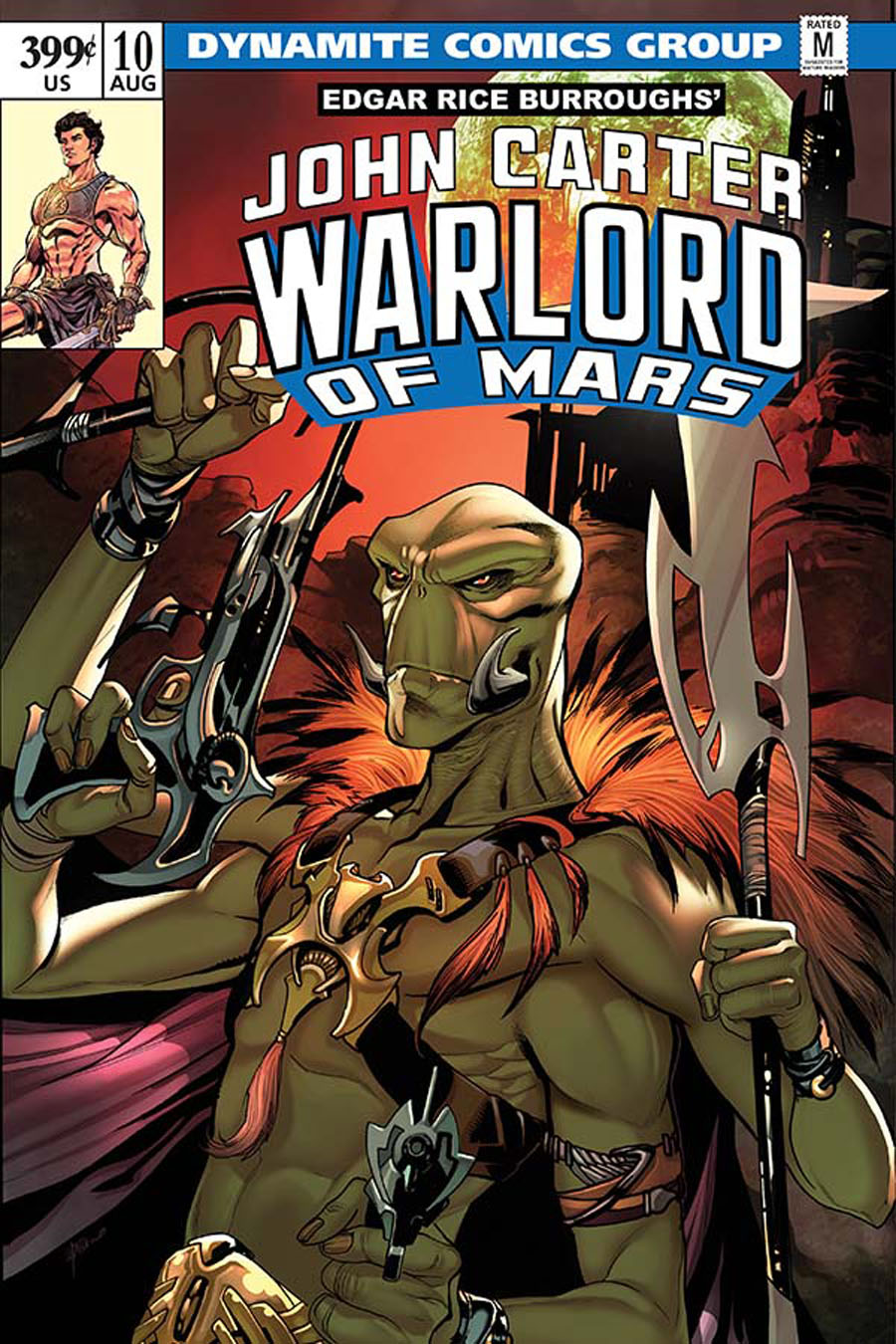 John Carter Warlord Of Mars Vol 2 #10 Cover C Variant Emanuela Lupacchino Cover