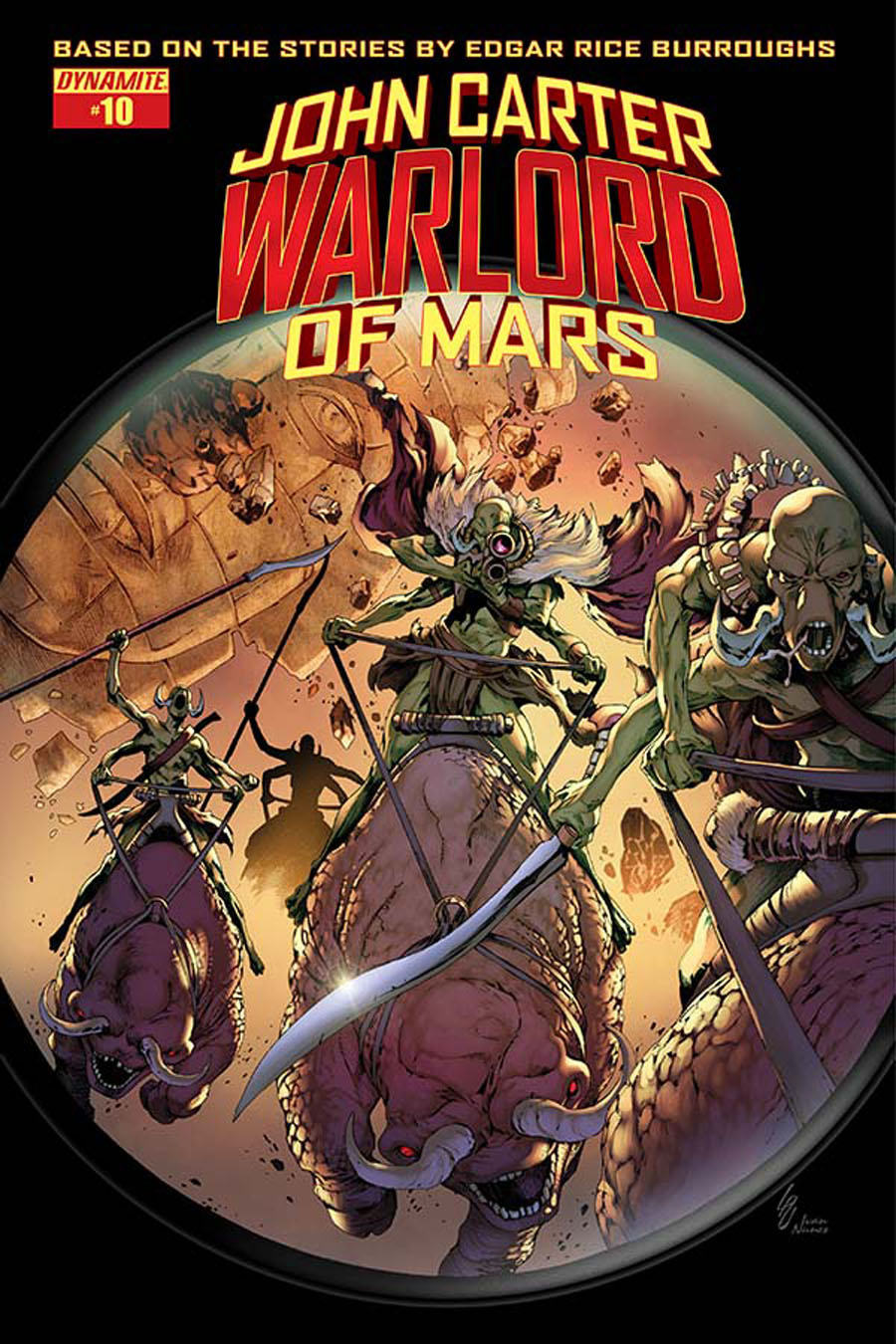 John Carter Warlord Of Mars Vol 2 #10 Cover D Variant Jonathan Lau Subscription Cover
